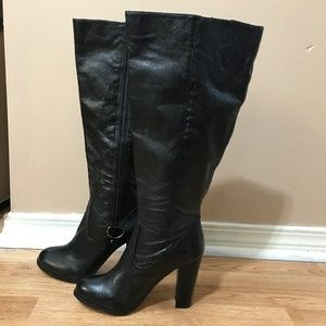 Bakers Tall Leather Boots